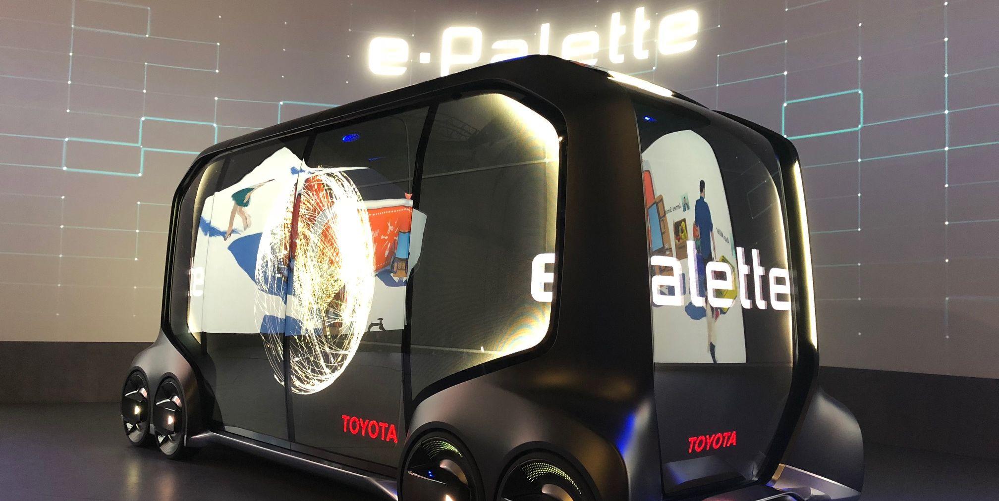 Toyota e-Palette at CES 2018