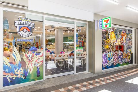 7 eleven打造特色超商  一次網羅寶可夢、snoopy主題店