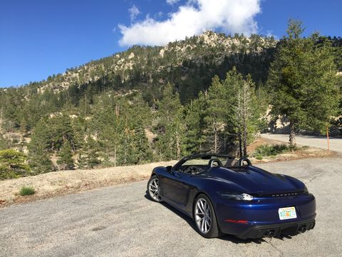 2020 porsche 718 spyder is well worth the 100 grand
