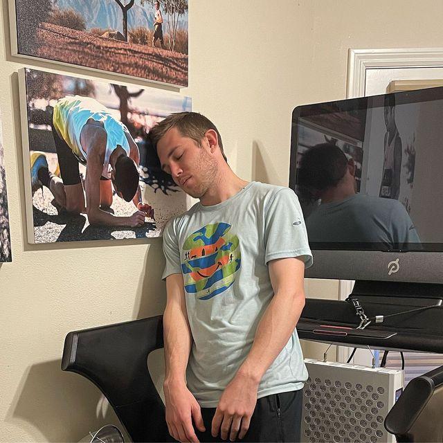 cj albertson peloton treadmill challenge