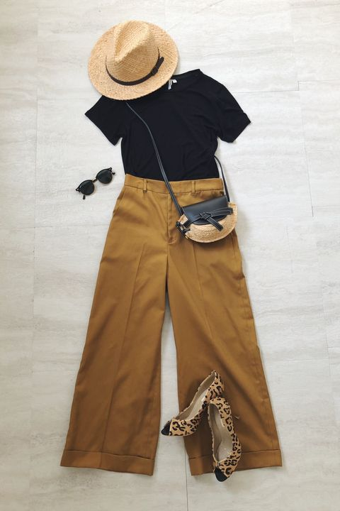 Clothing, Khaki, Brown, Beige, Outerwear, Sleeve, Trousers, Costume, Hat, Waist,