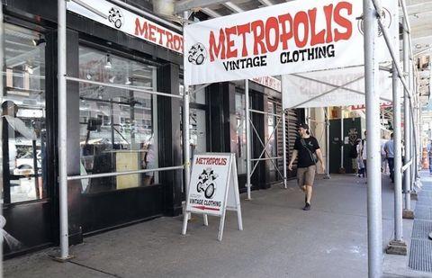 metropolis vintage store nyc