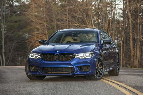 The 2019 Bmw M5 Competition Is Ludicrous