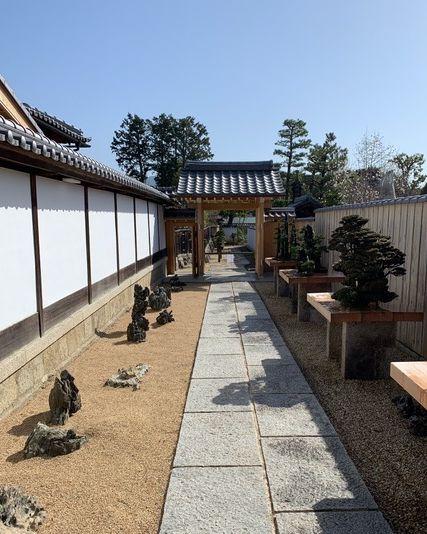 大徳寺芳春院「盆栽庭園」
