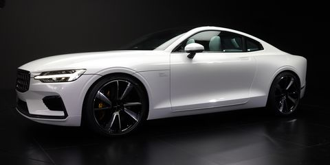 The 2020 Polestar 1 Is A Gorgeous Volvo Based 600 Hp Hybrid Coupe