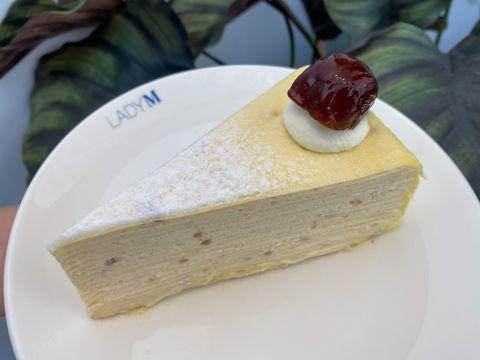lady m秋季新品來啦!清爽的「桂花千層蛋糕」限定登場,紅豆、栗子千層同步回歸