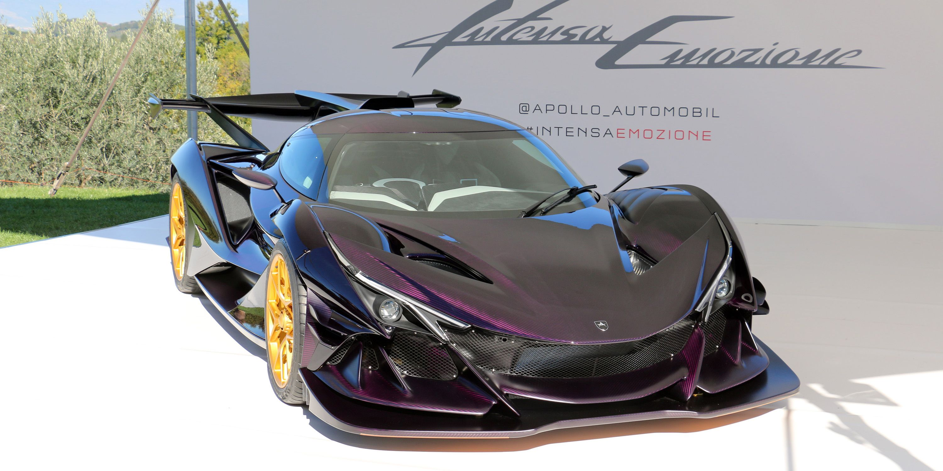 The 2 7 Million Apollo Ie Hypercar Live Gallery