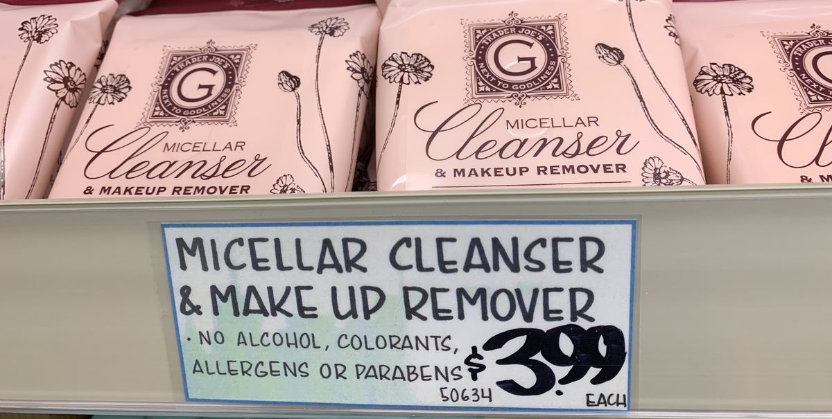 Image result for trader joe's micellar cleanser & makeup remover