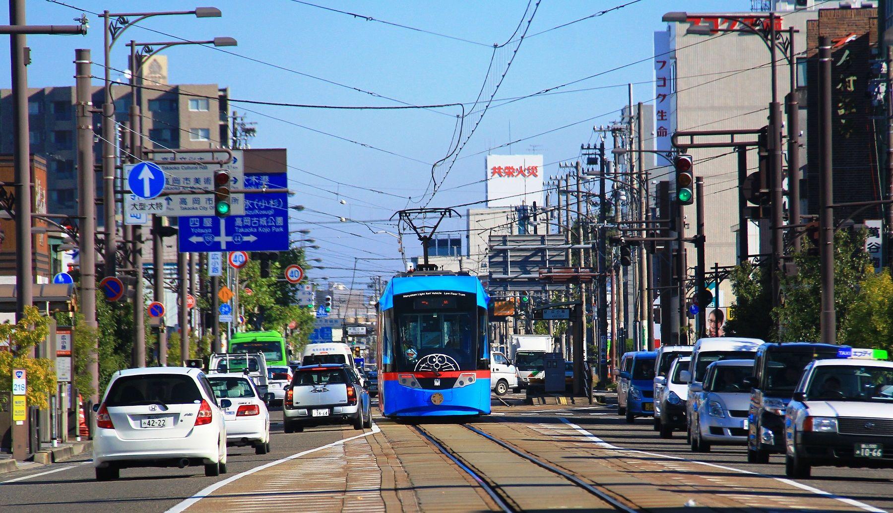日本, 北陸, 哆啦A夢電車, 哆啦A夢, 小叮噹, 電車