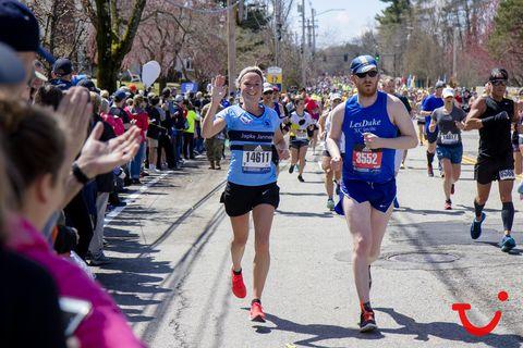 Zo ging de Boston Marathon van Japke Janneke