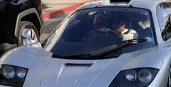 Is That Mario Andretti Riding With Lewis Hamilton in a McLaren F1?