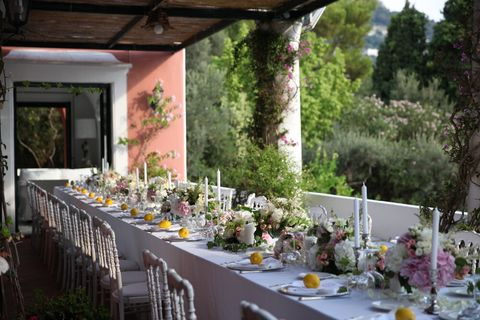 an italian inspired tablescape