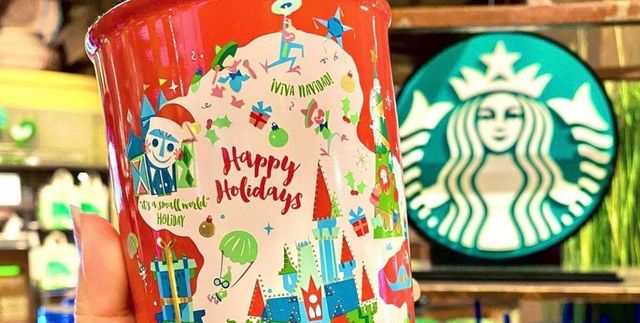 Starbucks Dropped A Line Of Disney-Themed Holiday Tumblers And We Want All Of Them