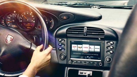 porsche pccm head unit car stereo for vintage 911