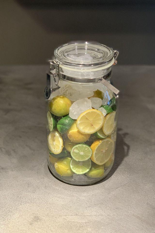 レモン、すだちの梅シロップ