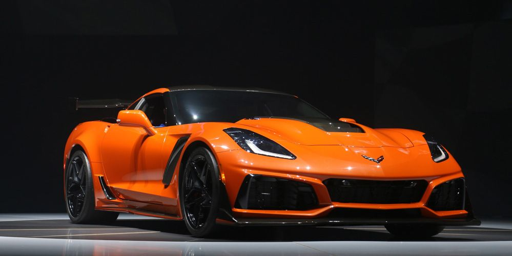 Car Auction Apps >> 2019 Chevrolet Corvette ZR1: Live Pictures
