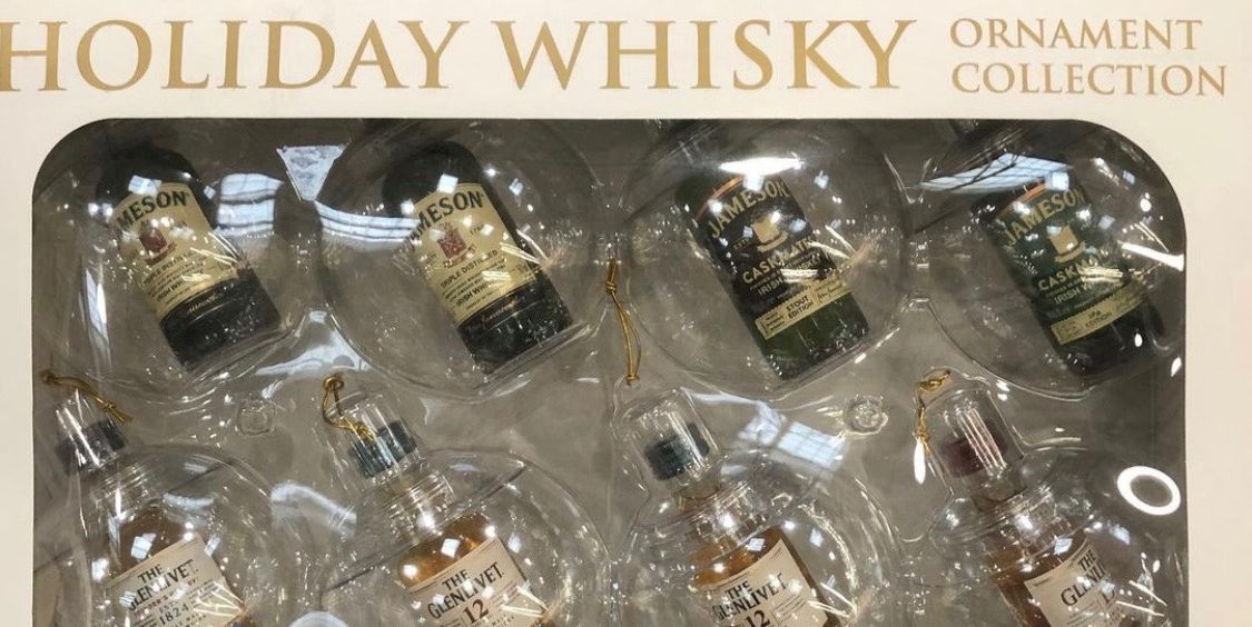 Costco Is Selling Whisky Ornaments So The Holidays Just Got A Bit Merrier