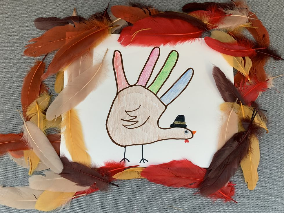 How to Make a Hand Turkey in 7 Easy Steps