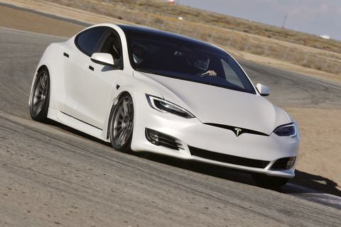 check out this tesla model s remade by unplugged performance