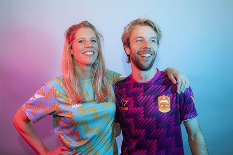 Jan van Hövell en Charlotte Jongejan van KLABU