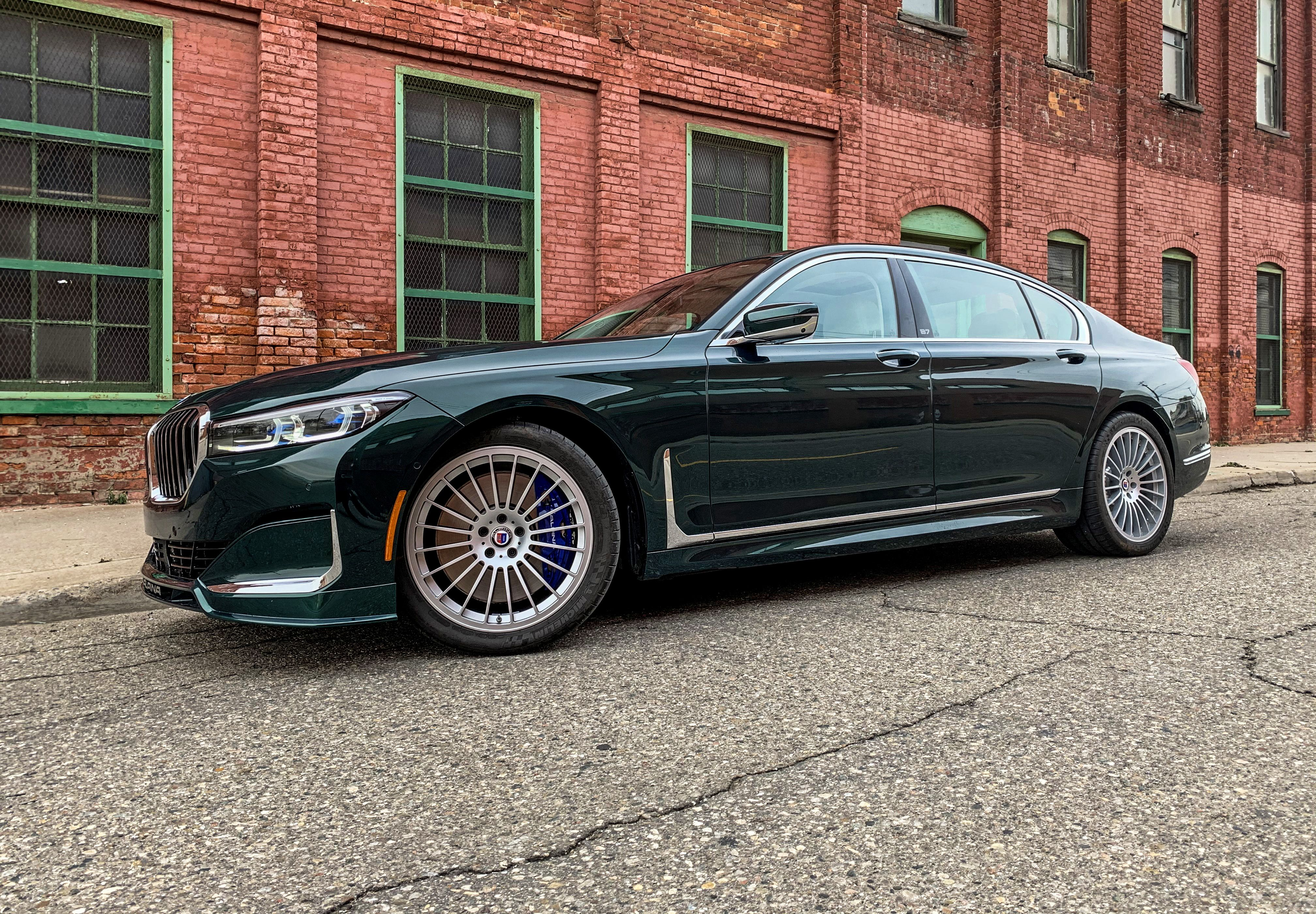 2020 Bmw Alpina B7 Green Is For The Money