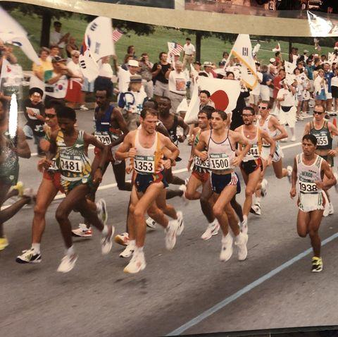 Sports, Running, Marathon, Long-distance running, Recreation, Athletics, Individual sports, Outdoor recreation, Crowd, Exercise,