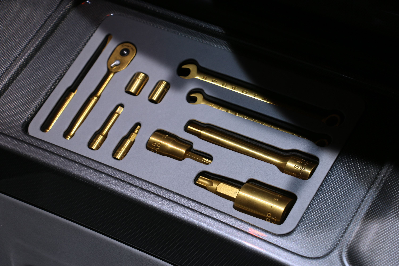 Here's the McLaren Speedtail's 3D-Printed Titanium Toolkit