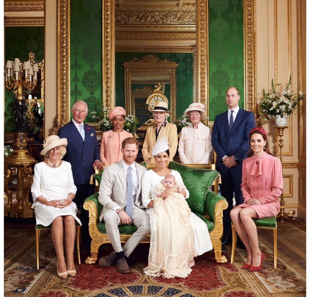 Here's Who People *Think* Baby Archie's Godparents Are After Yesterday's Christening