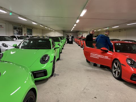 Porsche Ice Force Pro Experience