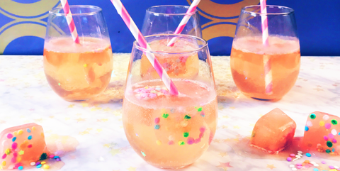 Liquid, Drink, Barware, Glass, Drinkware, Tableware, Peach, Orange, Juice, Fluid,