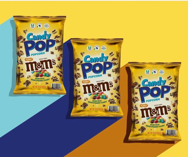 candy pop popcorn peanut mm's