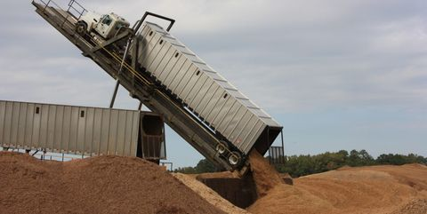 Soil, Sand, Vehicle, Slope, Mining,