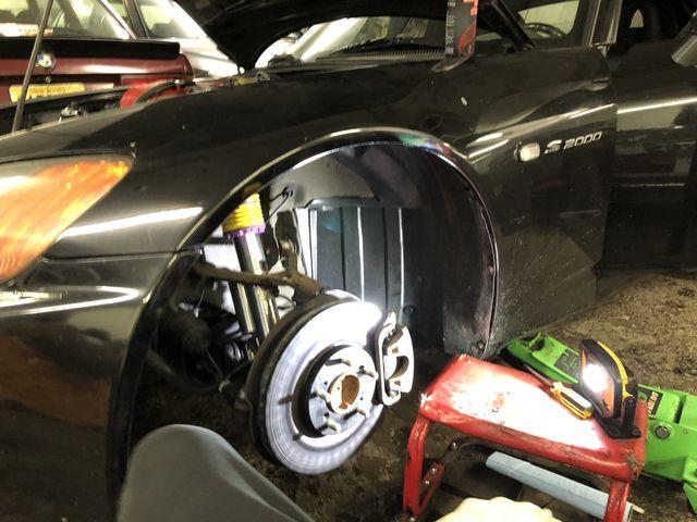 honda s2000 brake job