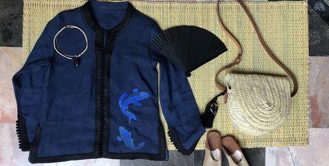 Clothing, Outerwear, Jacket, Textile, Zipper, Pattern, Vest, Shoe, Leather,