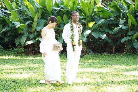 ハワイ,  結婚式, 2019, トレンド, おしゃれ, 参考, ファッション, ドレス, トリート