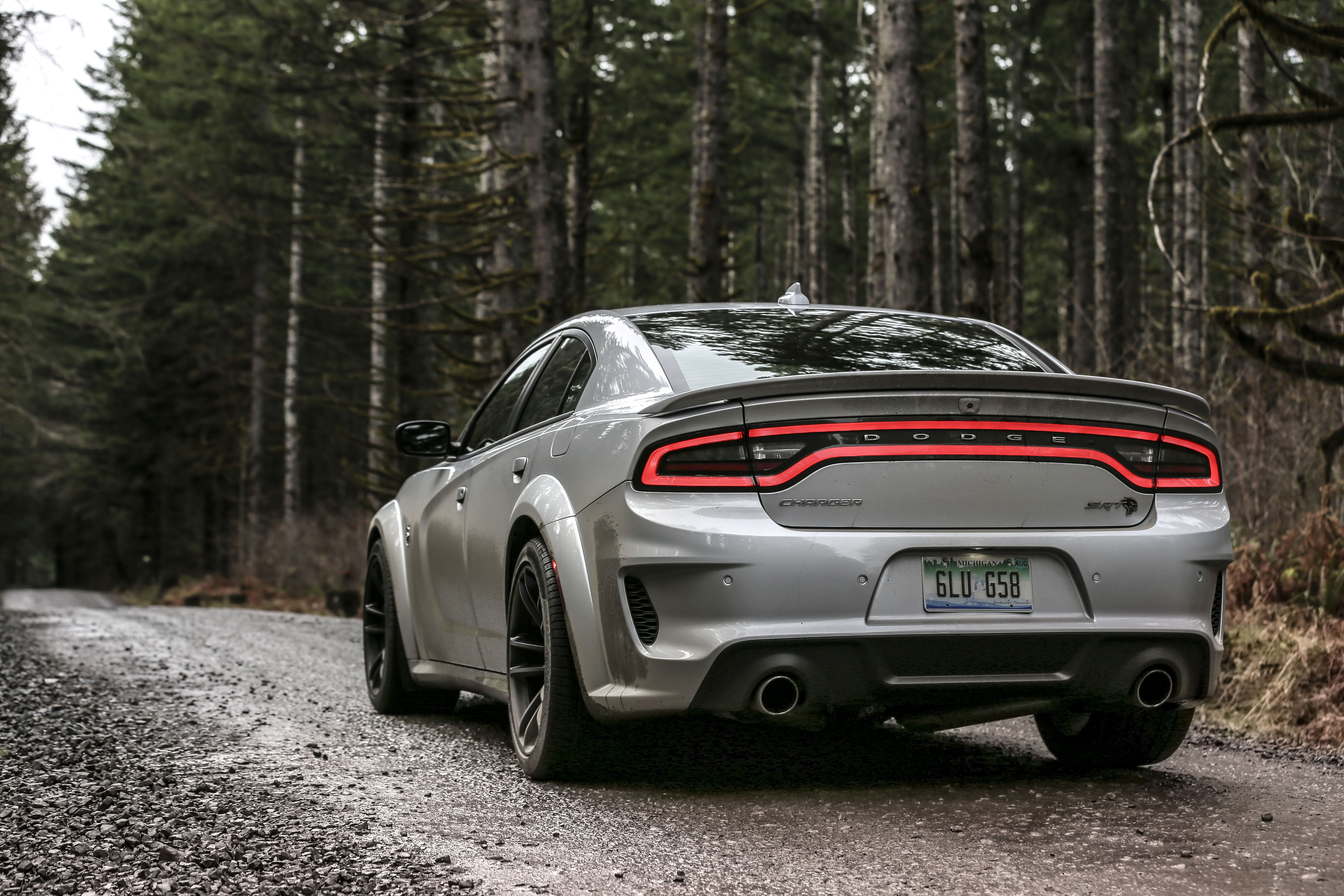 Lost in Oregon Logging Country With a Dodge Charger Hellcat Widebody
