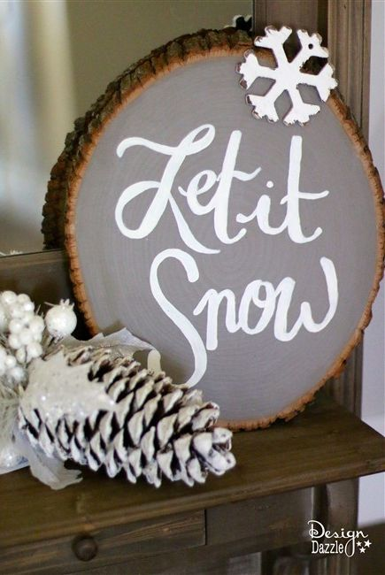 20 Best Diy Christmas Signs Christmas Sign Ideas