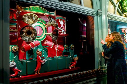 Fortnum & Mason Christmas Window