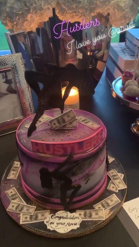 Magnificent Alex Rodriguez Got Jennifer Lopez Hustlers Stripper Cake Funny Birthday Cards Online Elaedamsfinfo