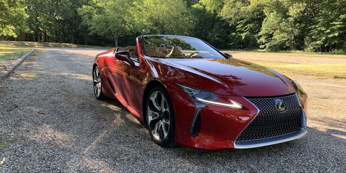 gallery the 2021 lexus lc 500 convertible