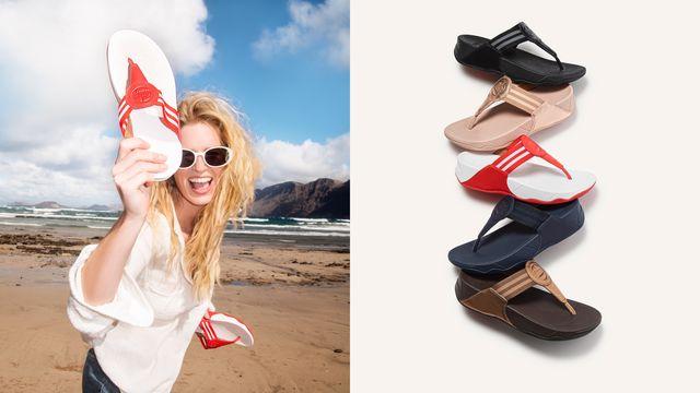 「walkstar 經典織帶夾腳鞋」全球回歸,每一步都在提升足底肌肉運動量!這一穿上就完全不想脫下的好穿程度,女孩們必須了解!