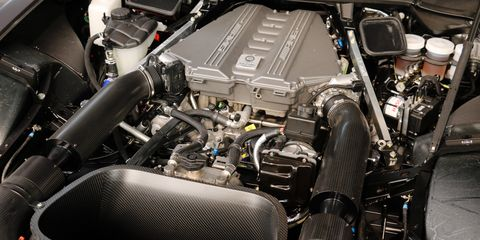 Land vehicle, Vehicle, Car, Engine, Auto part, Personal luxury car, Automotive engine part,