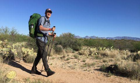 Wilderness, Plant community, Adventure, Recreation, Hiking equipment, Shrubland, Trail, Tree, Hiking, Backpacking,