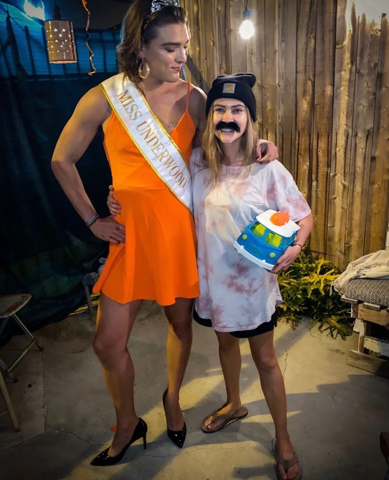 Caelynn Miller-Keyes and Dean Unglert Dressed as Each Other for Halloween and It's...Something!