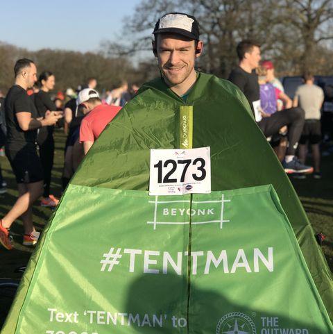 london marathon tentman