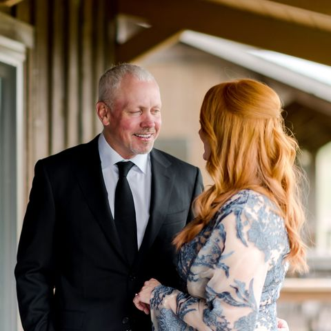 ladd drummond and ree drummond before their daughter alex's wedding