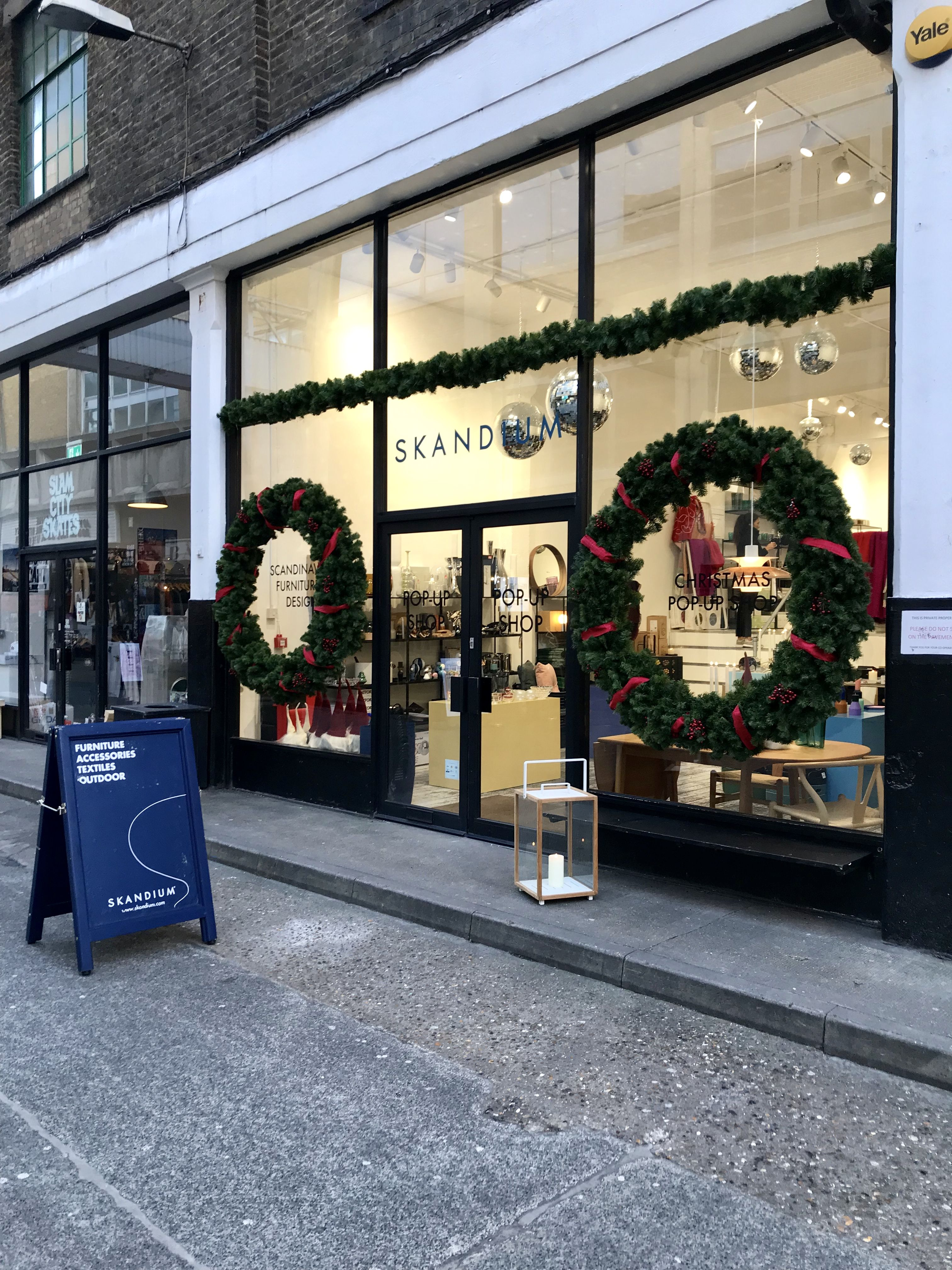 Skandium has opened a thoroughly festive Christmas pop-up in Shoreditch