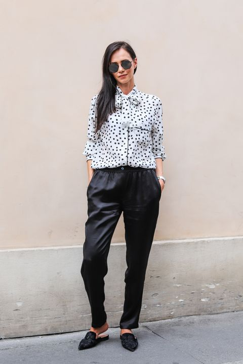 Clothing, White, Black, Street fashion, Jeans, Fashion, Waist, Eyewear, Footwear, Black-and-white,