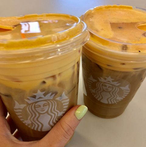 Starbucks' New Pumpkin Cream Cold Brew Is So Much Better Than The PSL