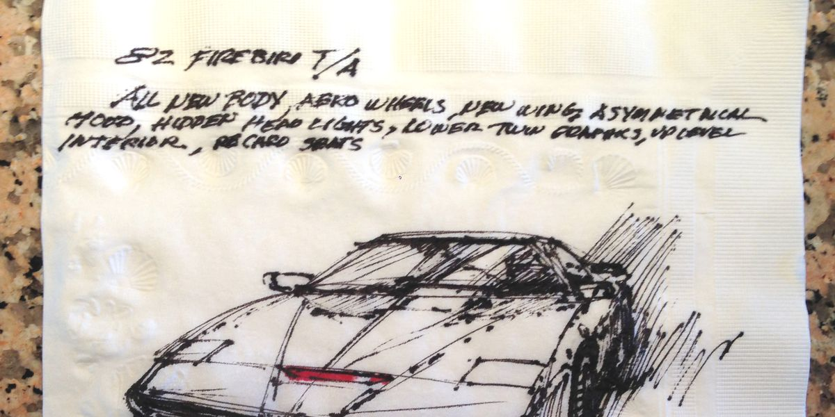 How Knight Rider's K.I.T.T. Went from Napkin Drawing to the Small Screen